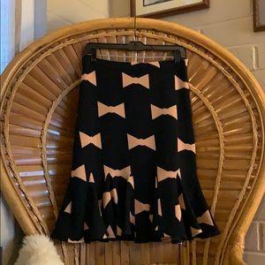 Eva Franco flared pencil skirt from Anthropologie